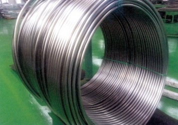 STAINLESS STEEL COIL SEMI-SEAMLESS (WELDED BUT SEAMLESS) TUBE